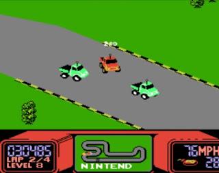 Pantallazo videojuego R.C. Pro-Am - NES