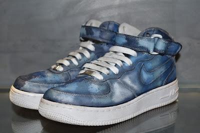 "patine camouflage ""tons gris et bleu"" byPaulus Bolten"