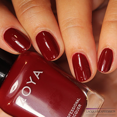 Nail polish swatch of Alyssa from the Zoya Element Fall 2018 collection