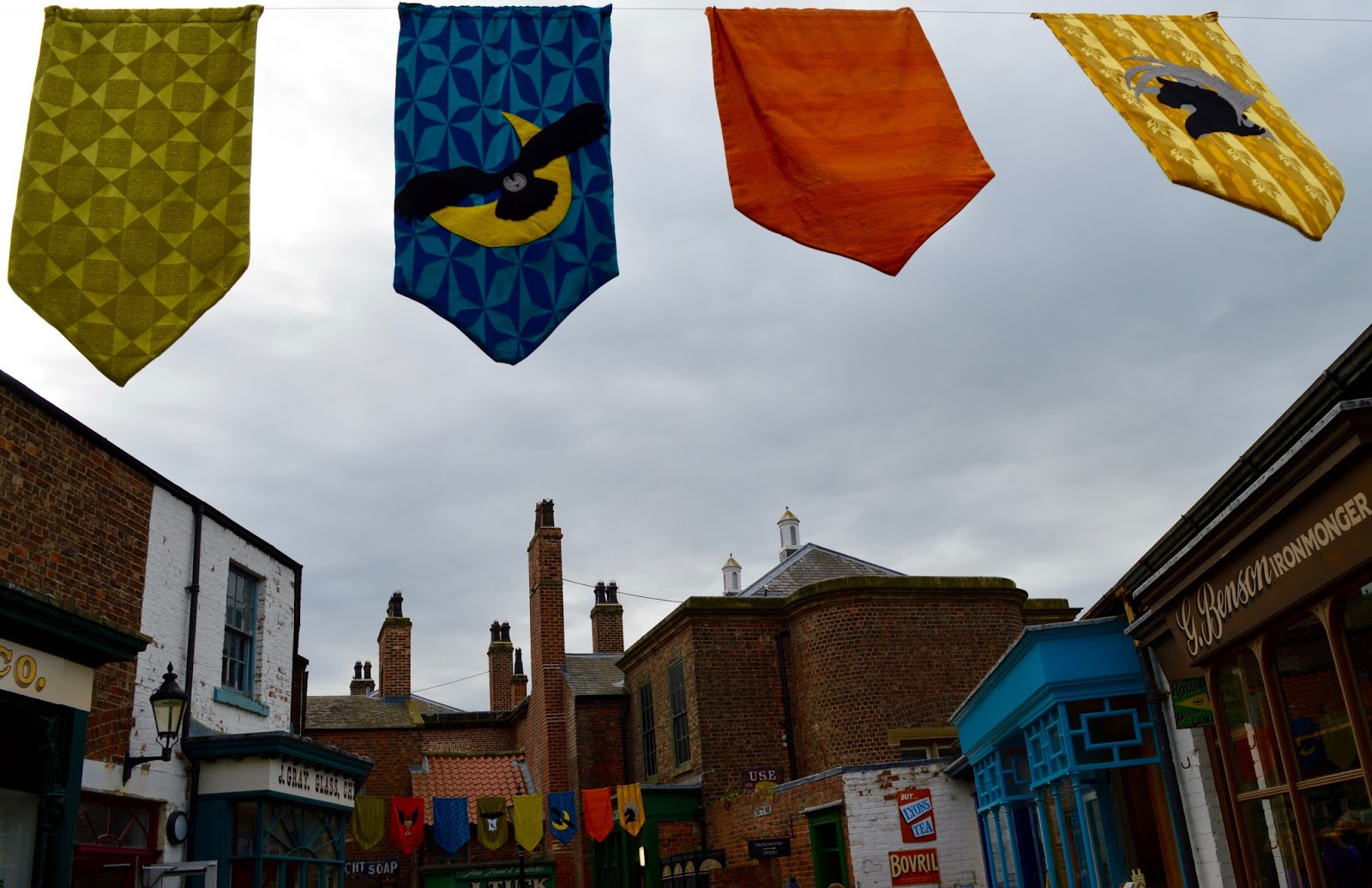 Half Term Hocus Pocus at Preston Park | The North East's very own Diagon Alley - Harry Potter bunting