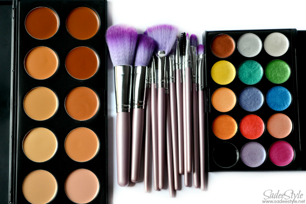 Romwe Cosmetics and Makeup Brushes Review