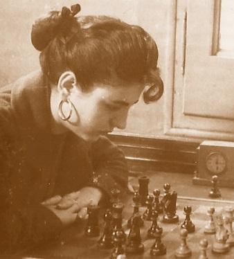 La ajedrecista Maria Lluïsa Puget González