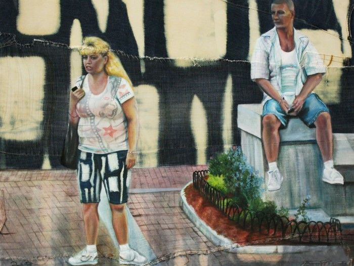 Американский художник. Danielle Festa