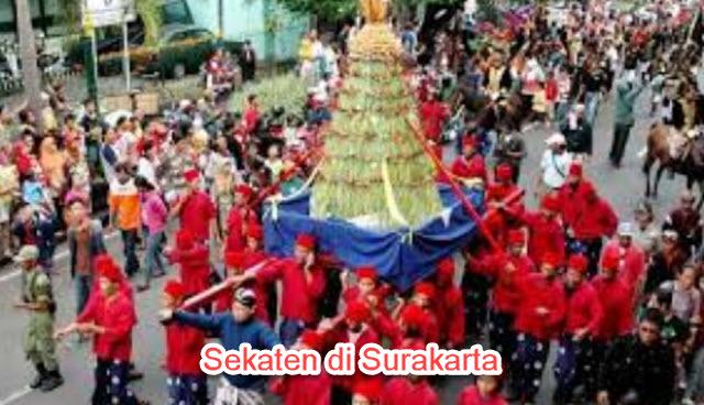 Sekaten di Surakarta dan Yogyakarta  Aspek