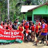 berpose di green canyon