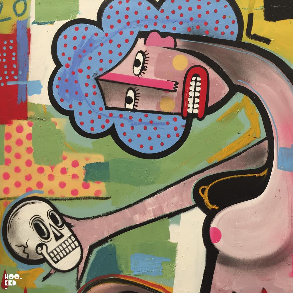 Belgian street artist Joachim's solo show in London