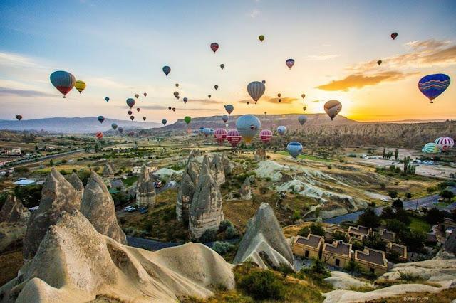Aluguel de carro na Capadócia - Turquia