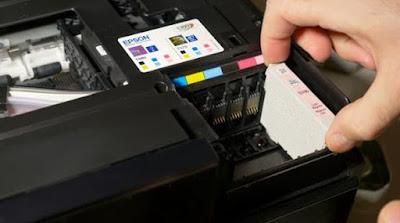 5 Cara Mudah mengatasi Hasil Print Bergaris