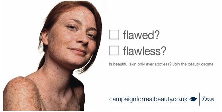 Design context blog Dove Campaign Self Esteem Programme