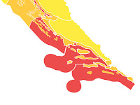 crveni meteoalarm Srednja Dalmacija slike otok Brač Online