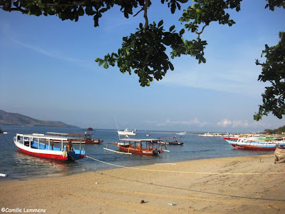 Gili Air harbor,