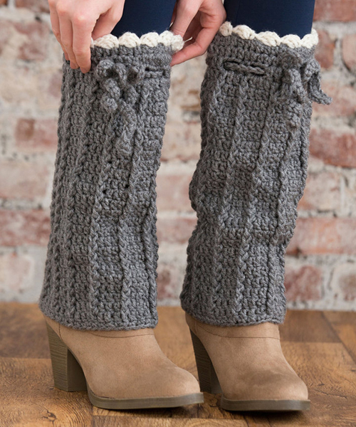 Long Boot Warmers - Free Pattern
