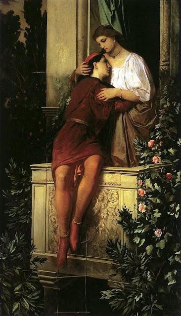 Anselm Friedrich Feuerbach Ромео и Джульетта