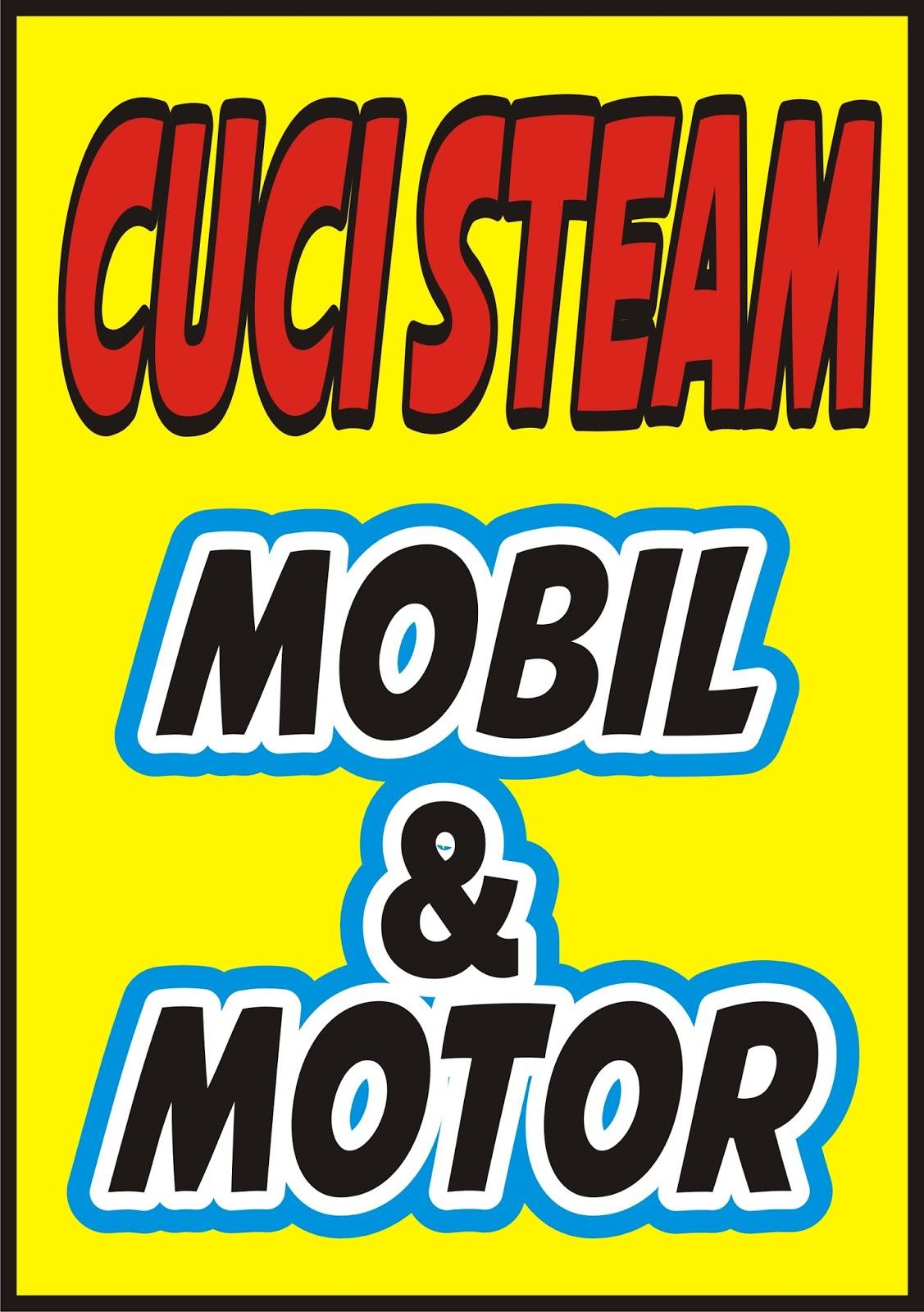 Contoh Spanduk Cuci Motor.cdr | KARYAKU