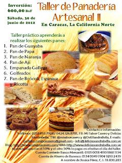 Taller de Panadería Artesanal II