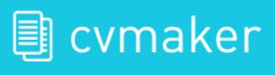 logo cvmaker create free cv template