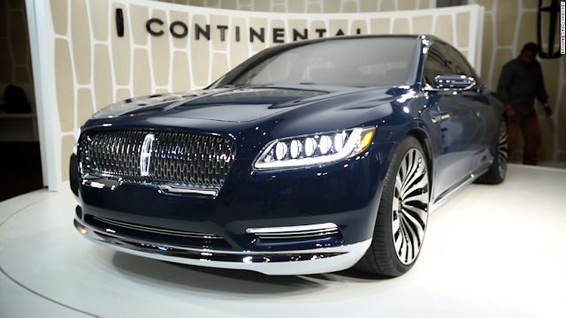 Renace Lincoln Continental 2016