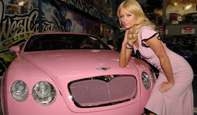 أفخم سيارات المشاهير في العالم باريس هيلتون