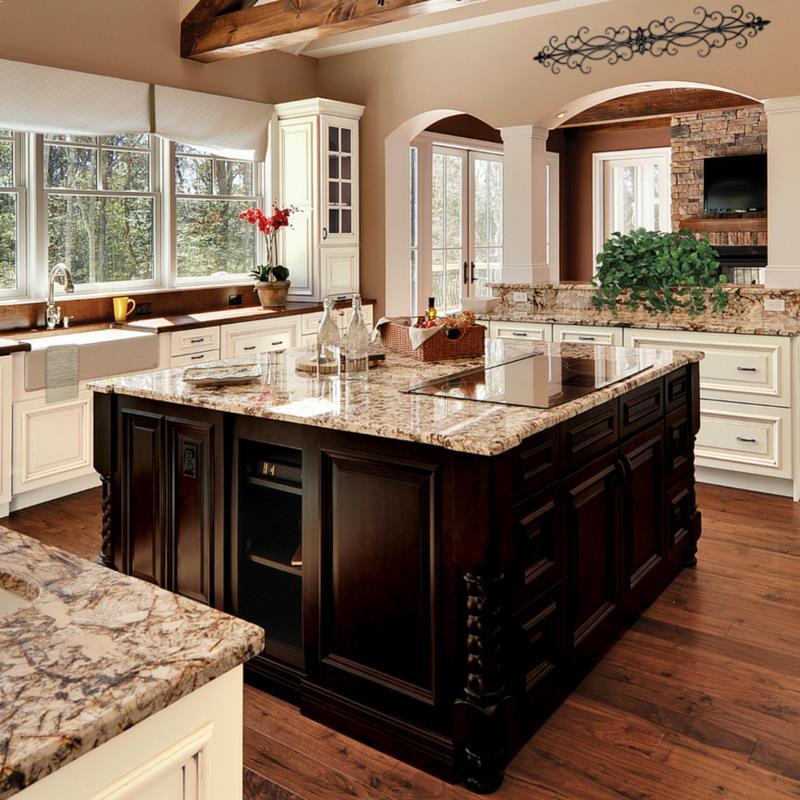 √√ small kitchen design with big island  home interior