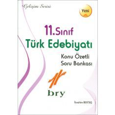 Birey 11.Sınıf Türk Edebiyatı Konu Özetli Soru Bankası Gelişim Serisi