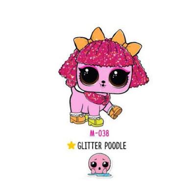 Лол пудель Glitter Poddle