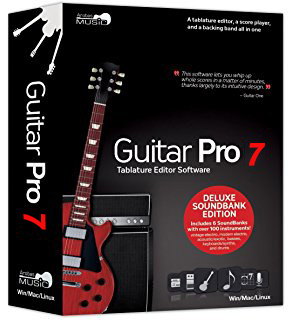 Guitar Pro 7.0.6.810 poster box cover