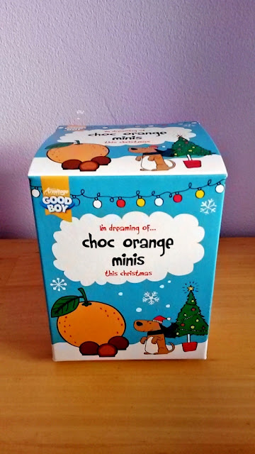 Good Boy Dog Chocolate orange minis christmas