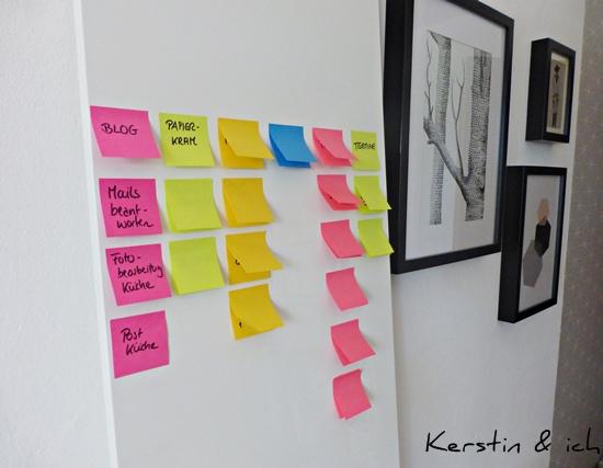DIY Pinboard für Projekte