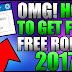 How to get free robux ( roblox )
