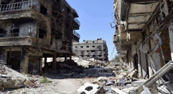 إرهابيون في سوريا نبشوا القبور بحثا عن رفات جنود إسرائيليين .؟