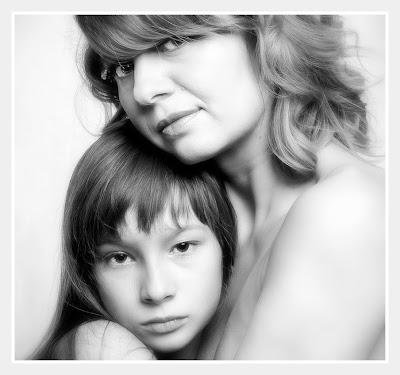dziecko, miłość, mądre wychowanie, matka i córka, mamą być