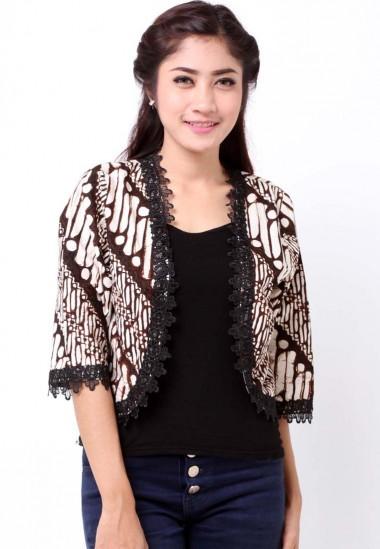 30+ Cardigan Batik Modern Terbaru yang Modis  7baab55591