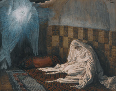 James Jacque Joseph Tissot (1836-1902). The Annunciation, 1886-94