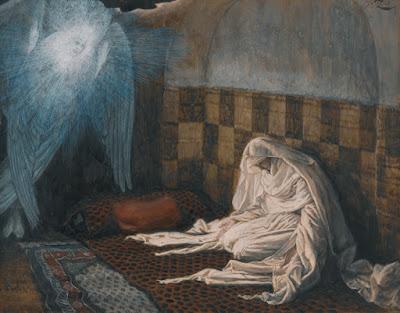 James Jacque Joseph Tissot (1836-1902). The Annunciation, 1886-94