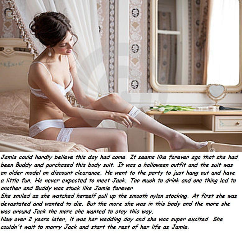 Lace panties sissy bondage