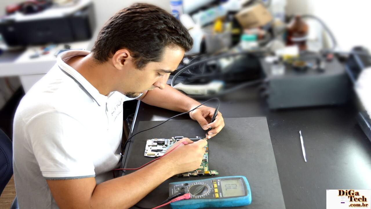 Ferramenta medição eletrônica placa-mãe - Multímetro