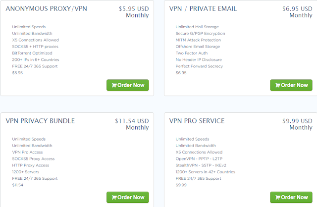 VPN services by Temok Webhosting