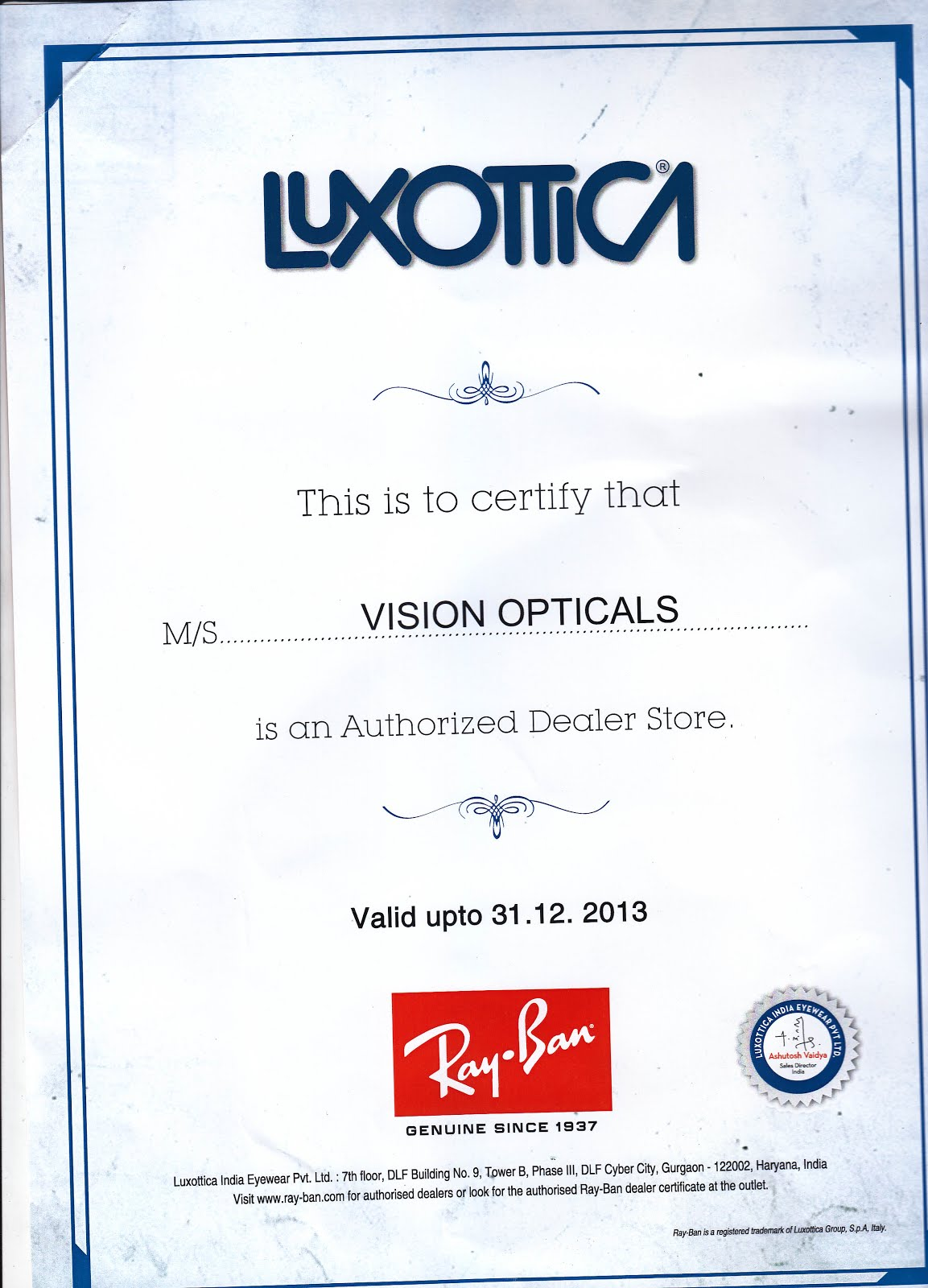 Vision Opticals Tirunelveli Nagercoil Collections