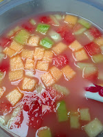 Sup Buah Sirup Marjan Takjil Praktis