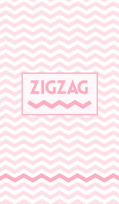 ZIGZAG light pink