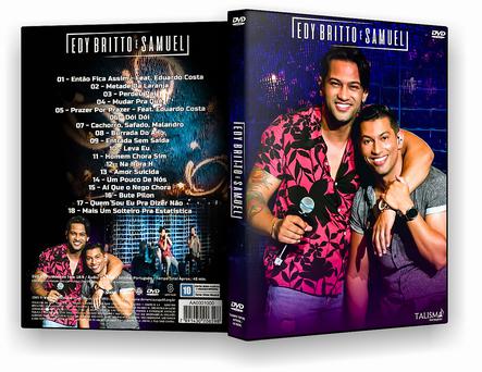 CAPA DVD – Edy Britto & Samuel 2019 – DVD-R