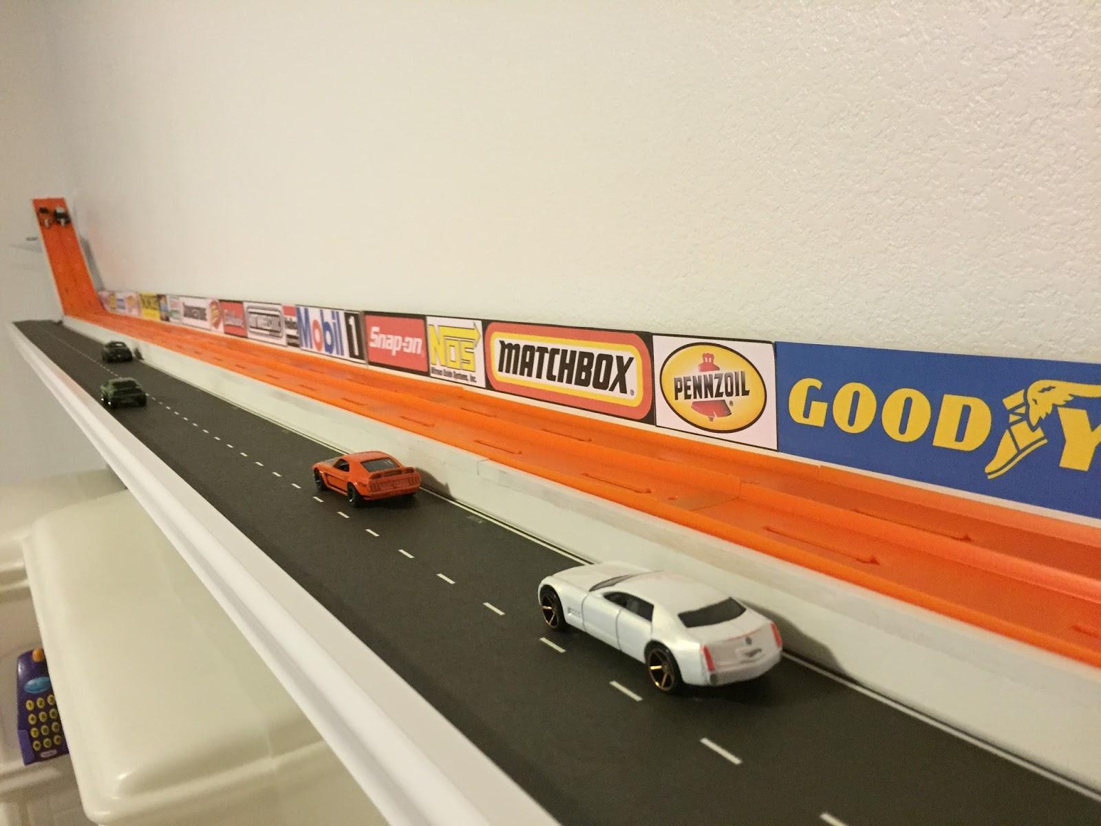 Hot Wheels Racing League How To Build A Hot Wheels Shelf