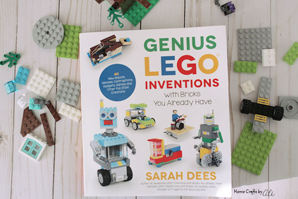 Genius Lego Inventions by Sarah Dees book for kids