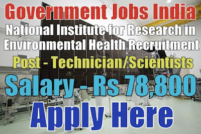 National Institute for Research in Environmental Health NIREH Recruitment 2017