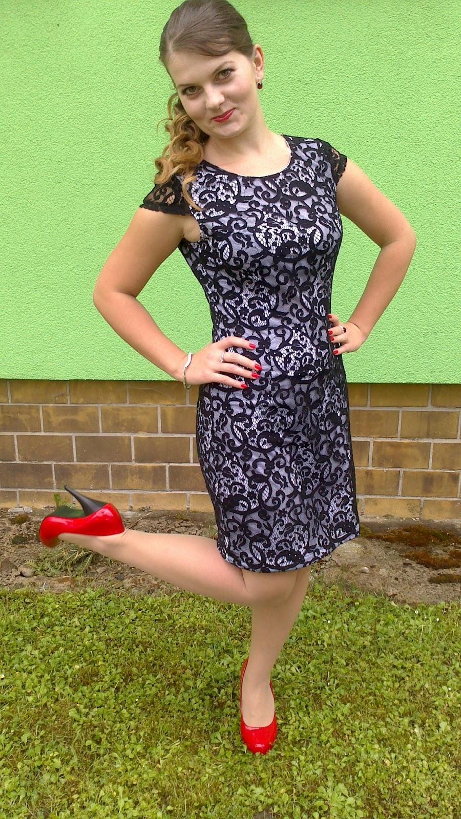 Life is my style  Outfit č. 18  Čipkované šaty 8124cdd9e38