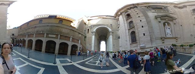 Visita à cúpula da Basílica de São Pedro, Vaticano