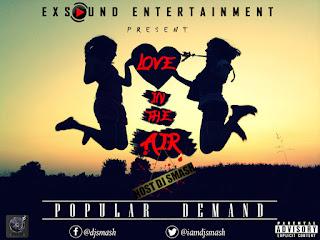 LOVE%2BIN%2BTHE%2BAIR - DJ SMASH LOVE IN THE AIR MIXTAPE