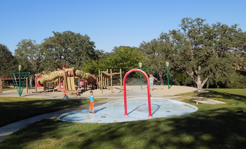 Play Area at Heilmann Park, Atascadero,  © B. Radisavljevic