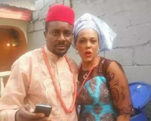 Emeka Ike and Ex-wife