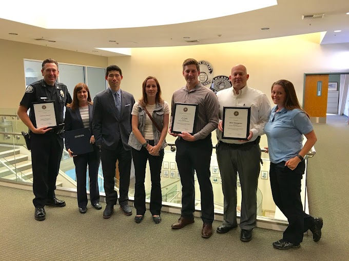 APD Recognized by the US Postal Inspection Service